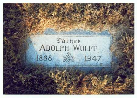 WULFF, ADOLPH - Pottawattamie County, Iowa | ADOLPH WULFF