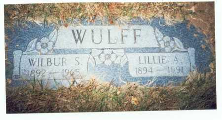 WULFF, WILBUR S. - Pottawattamie County, Iowa | WILBUR S. WULFF