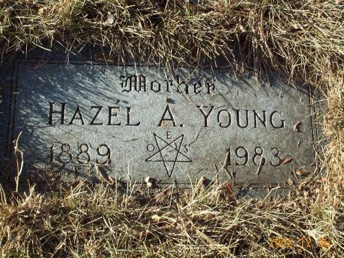 YOUNG *SACKETT), HAZEL - Pottawattamie County, Iowa | HAZEL YOUNG *SACKETT)