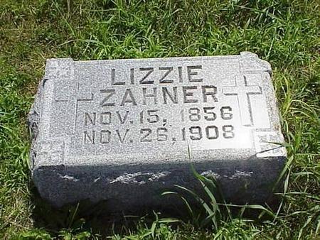 ZAHNER, LIZZIE - Pottawattamie County, Iowa | LIZZIE ZAHNER