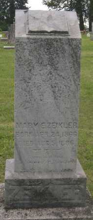 ZIEKLER, MARY E. - Pottawattamie County, Iowa | MARY E. ZIEKLER