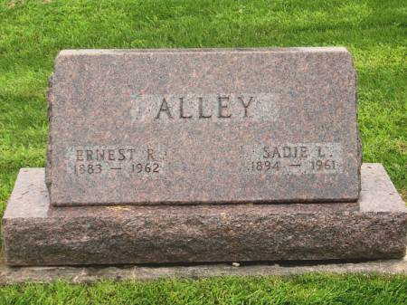 ALLEY, SADIE L. - Poweshiek County, Iowa | SADIE L. ALLEY