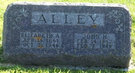 ALLEY, ELIZABETH A. - Poweshiek County, Iowa   ELIZABETH A. ALLEY