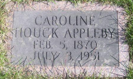 HOUCK APPLEBY, CAROLINE - Poweshiek County, Iowa | CAROLINE HOUCK APPLEBY