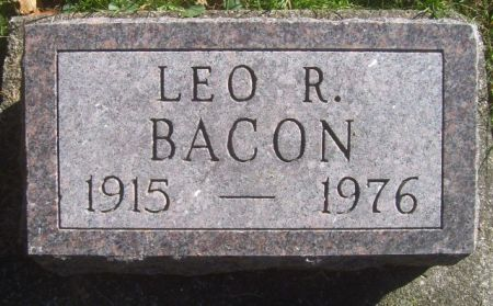 BACON, LEO R. - Poweshiek County, Iowa | LEO R. BACON
