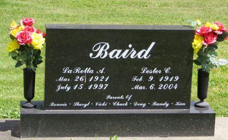 BAIRD, LESTER C. - Poweshiek County, Iowa | LESTER C. BAIRD