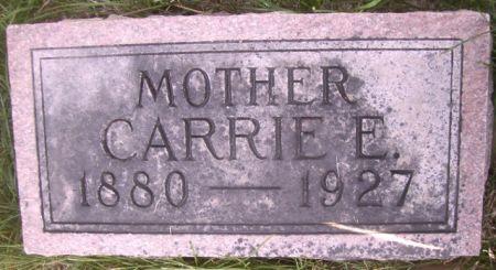 BAKER, CARRIE  E. - Poweshiek County, Iowa | CARRIE  E. BAKER