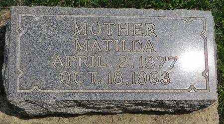 BALTISBERGER, MATILDA - Poweshiek County, Iowa   MATILDA BALTISBERGER
