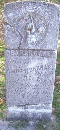 BARNARD, SARAH JANE - Poweshiek County, Iowa | SARAH JANE BARNARD
