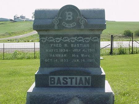 BASTIAN, FRED - Poweshiek County, Iowa | FRED BASTIAN