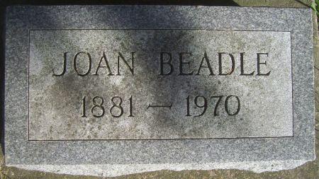 BEADLE, JOAN - Poweshiek County, Iowa   JOAN BEADLE