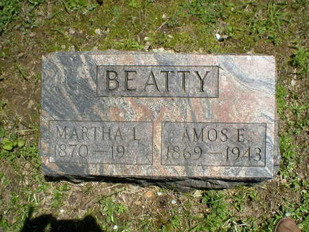 BEATTY, AMOS E. - Poweshiek County, Iowa | AMOS E. BEATTY