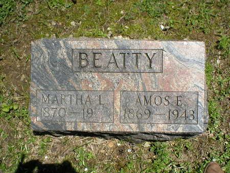 REAVIS BEATTY, MARTHA L - Poweshiek County, Iowa   MARTHA L REAVIS BEATTY