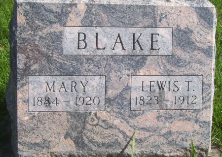 BLAKE, MARY - Poweshiek County, Iowa | MARY BLAKE