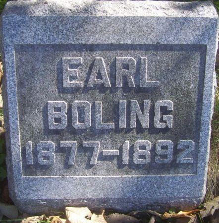 BOLING, EARL - Poweshiek County, Iowa | EARL BOLING