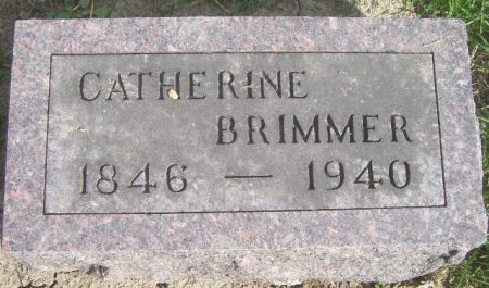 BRIMMER, CATHERINE - Poweshiek County, Iowa | CATHERINE BRIMMER