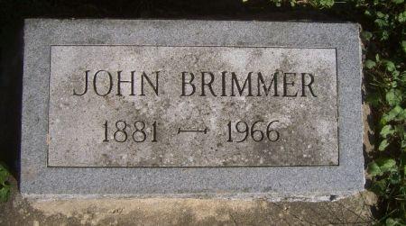 BRIMMER, JOHN - Poweshiek County, Iowa | JOHN BRIMMER