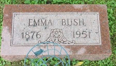 BUSH, EMMA - Poweshiek County, Iowa | EMMA BUSH