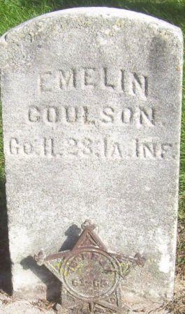 COULSON, EMELIN - Poweshiek County, Iowa | EMELIN COULSON
