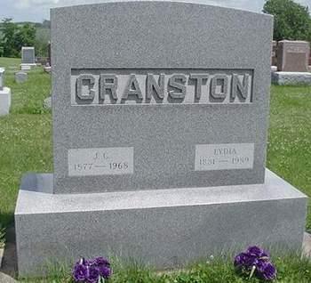CRANSTON, J.C. - Poweshiek County, Iowa | J.C. CRANSTON