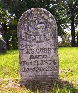 CURRY, ALPHA B. - Poweshiek County, Iowa | ALPHA B. CURRY