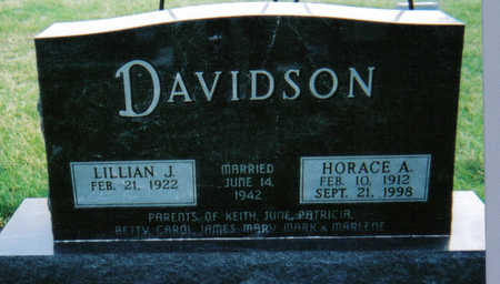 DAVIDSON, HORACE - Poweshiek County, Iowa | HORACE DAVIDSON