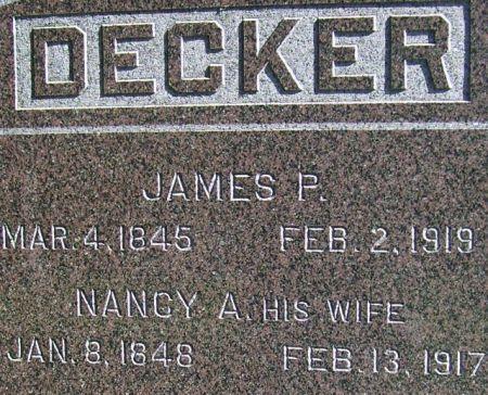 DECKER, NANCY ANN (SUNNER) - Poweshiek County, Iowa | NANCY ANN (SUNNER) DECKER