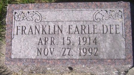 DEE, FRANKLIN EARLE - Poweshiek County, Iowa | FRANKLIN EARLE DEE