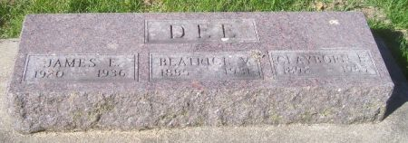 DEE, BEATRICE V. - Poweshiek County, Iowa | BEATRICE V. DEE