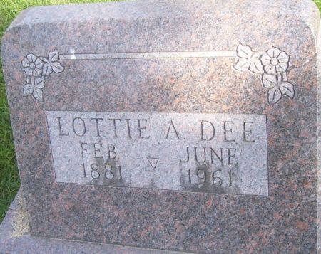 DEE, LOTTIE A. - Poweshiek County, Iowa | LOTTIE A. DEE