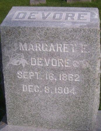 DEVORE, MARGARET E. - Poweshiek County, Iowa | MARGARET E. DEVORE