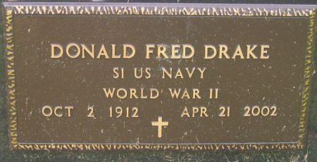 DRAKE, DONALD FRED - Poweshiek County, Iowa | DONALD FRED DRAKE