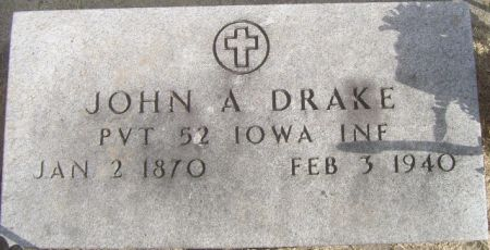 DRAKE, JOHN A. - Poweshiek County, Iowa | JOHN A. DRAKE
