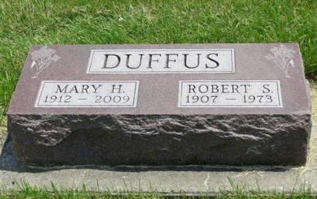 DUFFUS, MARY H. - Poweshiek County, Iowa   MARY H. DUFFUS