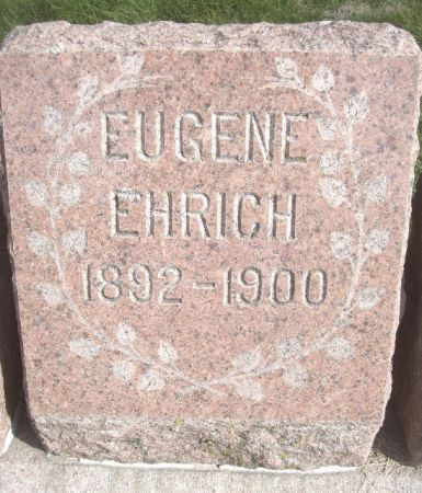 EHRICH, EUGENE - Poweshiek County, Iowa | EUGENE EHRICH