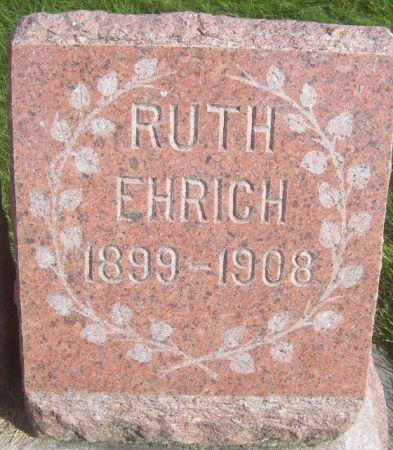 EHRICH, RUTH - Poweshiek County, Iowa   RUTH EHRICH