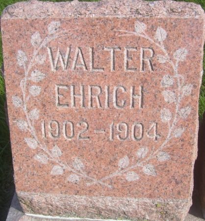 EHRICH, WALTER - Poweshiek County, Iowa | WALTER EHRICH