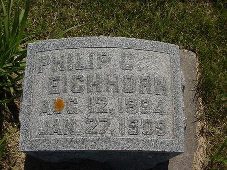 EICHHORN, PHILIP - Poweshiek County, Iowa | PHILIP EICHHORN