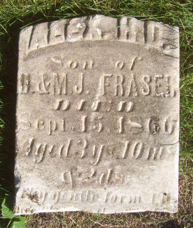 FRASER, ALEX H. D. - Poweshiek County, Iowa | ALEX H. D. FRASER