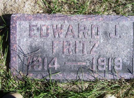 FRITZ, EDWARD J. - Poweshiek County, Iowa | EDWARD J. FRITZ