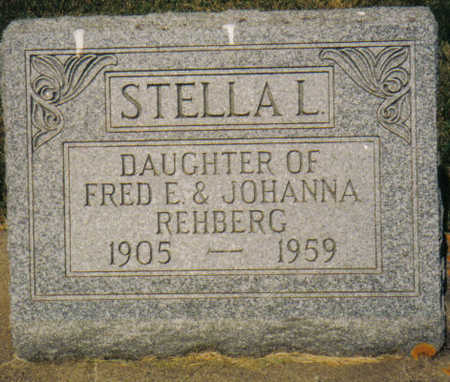 REHBERG GALLUP, STELLA L - Poweshiek County, Iowa | STELLA L REHBERG GALLUP