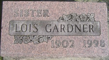 GARDNER, LOIS - Poweshiek County, Iowa | LOIS GARDNER