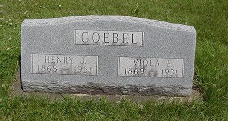 GOEBEL, VIOLA - Poweshiek County, Iowa   VIOLA GOEBEL