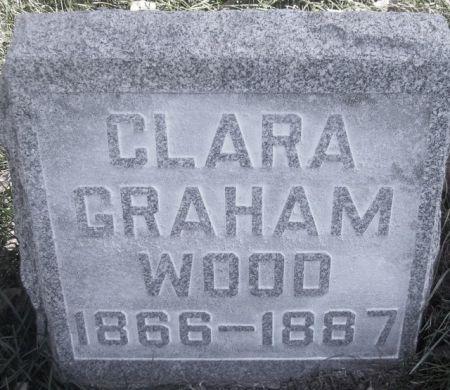 GRAHAM WOOD, CLARA - Poweshiek County, Iowa   CLARA GRAHAM WOOD