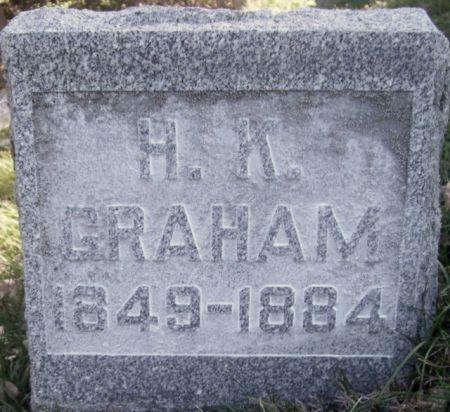 GRAHAM, H. K. - Poweshiek County, Iowa   H. K. GRAHAM