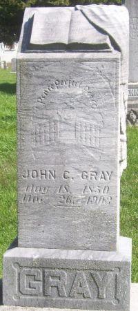 GRAY, JOHN C. - Poweshiek County, Iowa | JOHN C. GRAY