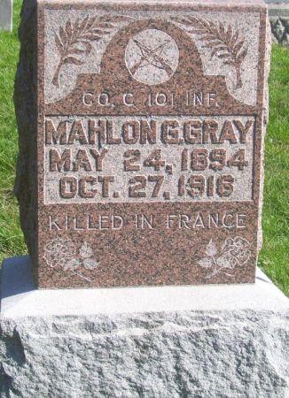 GRAY, MAHLON G. - Poweshiek County, Iowa | MAHLON G. GRAY