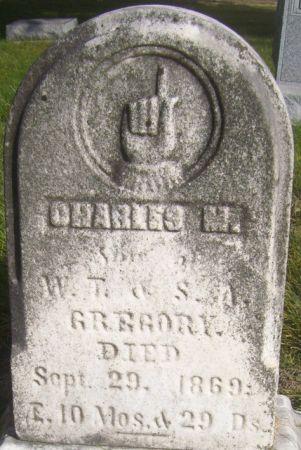 GREGORY, CHARLES M. - Poweshiek County, Iowa | CHARLES M. GREGORY