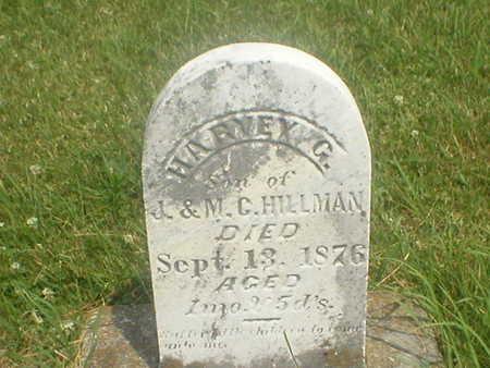 HILLMAN, HARVEY G. - Poweshiek County, Iowa | HARVEY G. HILLMAN
