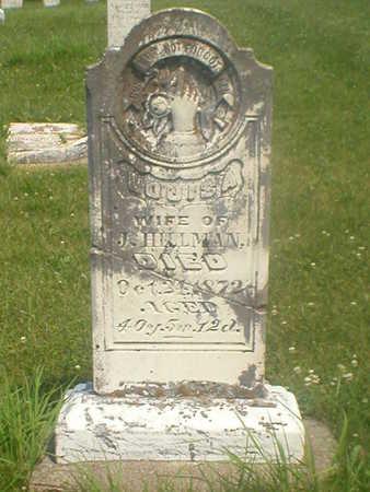 MORGAN HILLMAN, LOUISA - Poweshiek County, Iowa   LOUISA MORGAN HILLMAN